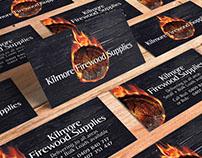 Kilmore Firewood Supplies - Logo & Business Card Design