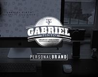 Personal Brand - Gabriel Pinto Graphic Designer