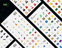 575 Flat Icon Pack 2016