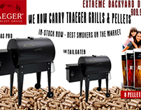 Banner Ad for Traeger Smokers