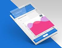 CRM Mobile App Template