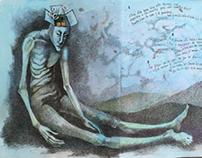Libro de artista poema de Jaime Sabines