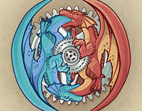 Dragon Oroboros and Gears