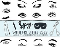 Vector Eye Illustrations - I Spy