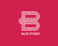 "Architectural Studio ""BLOK"" Logo design"