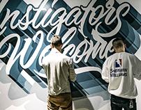Instigators Welcome Mural