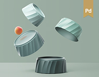 Folding - tableware