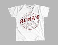 Buma's Pizzeria Logo