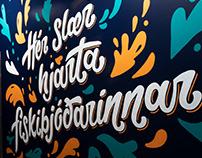 Food Hall Mural