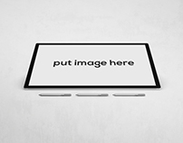 Free Graphic Screen Tablet Mockup Psd