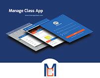Manage Class APP UI