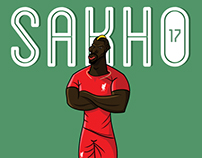 Mammadou Sakho - Experimenting with different style