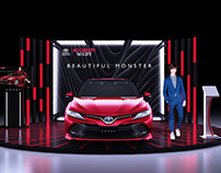 BOOTH CAMRY SHOWROOM 2019