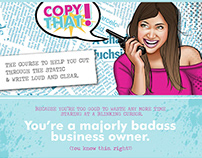 Sales Page Design - Copy That