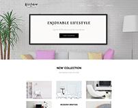 Modern Design For A Online Shop