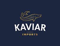 Kaviar Imports - Logo Project