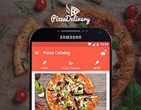 PizzaDelivery - Application for Android