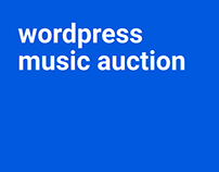 Wordpress Music Auction