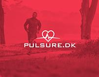 Pulsure.dk - Webshop design