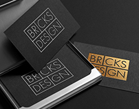 BRICKS DESIGN logotype