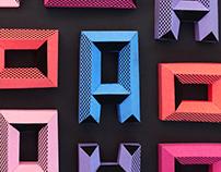 A paper pattern