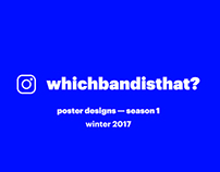 Which Band Is That? Poster Designs — Season 1