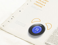 Ad For Nest Thermostat