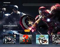Movie hub UI UX Design