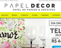 Template de e-mail marketing para e-commerce