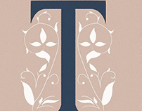 "Hand-drawn ""T"" Letter"