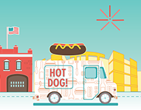 Food Truck Finder App // Motion Design