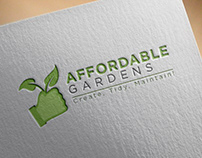 Affordable garden logo design