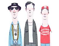 Beastie Boys Portraits