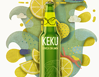 Propuesta publicitaria cerveza KEKU