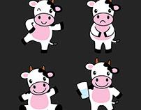 I will design cow in illustrator