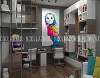 10/2017 Interior Design Study Area - Vaughan, Canada