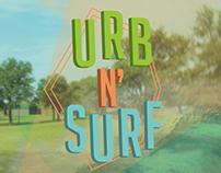 Urb N' Surf Poster