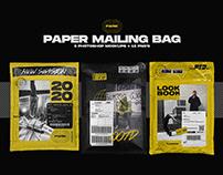 Paper Mailing Bag - Photoshop Mockups