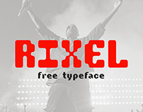 RIXEL | Free Font