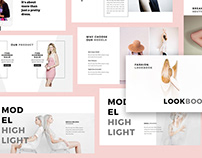 Fashion Lookbook Keynote Template