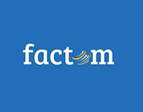 Factom logo opener