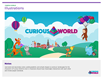 Curious World Brand Guide