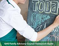 GHS Family Advisory - Restaurant Guide Cover v2