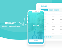 Behealth mobile app