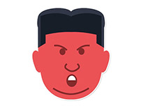 Kim Jon Un Sticker Pack for Telegram