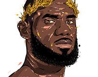 Adobe DRAW : NBA series - Lebron James 2