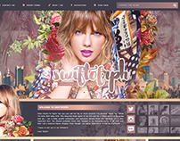 Tumblr Custom Theme Design (2014 - 2016)