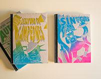 Libros de Ciencia Ficción | Tapas en Xilografía