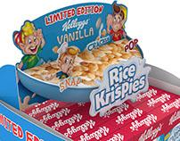 Rice Krispies Vanilla POP