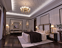 Classic Bedroom interior design in Traditional style